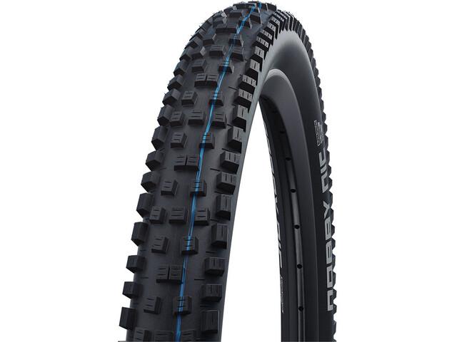 "SCHWALBE Nobby Nic Super Trail Evo Folding Tyre 27.5x2.60"" TLE E-50 Addix Speedgrip SnakeSkin, black"